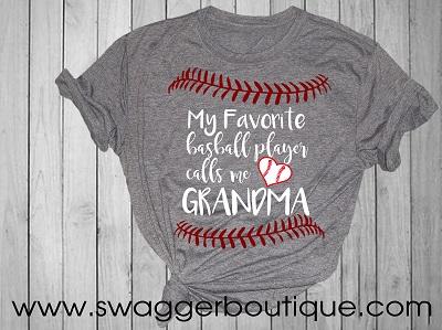 My Favortie Baseball Player Calls Me Grandma